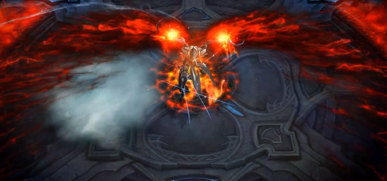 First Look at Malthael in Diablo 3 Reaper of Souls Expansion