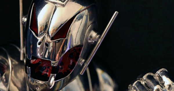 Ultron Mask Revealed on Set of Avengers Age of Ultron