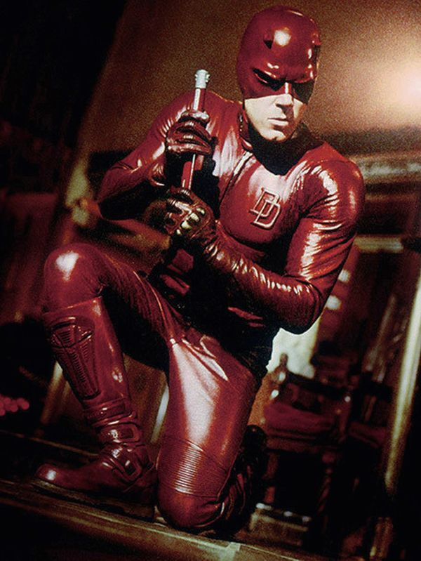 """Ben Affleck's """"Daredevil"""" outfit just for good measure"""