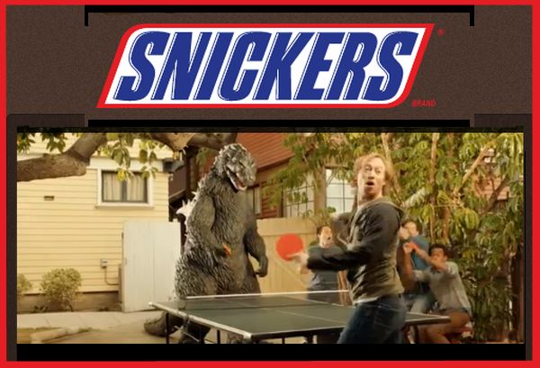 Contest: Snickers Movie Prize Pack Giveaway, Plus Hilarious Godzilla Snickers Commercial!