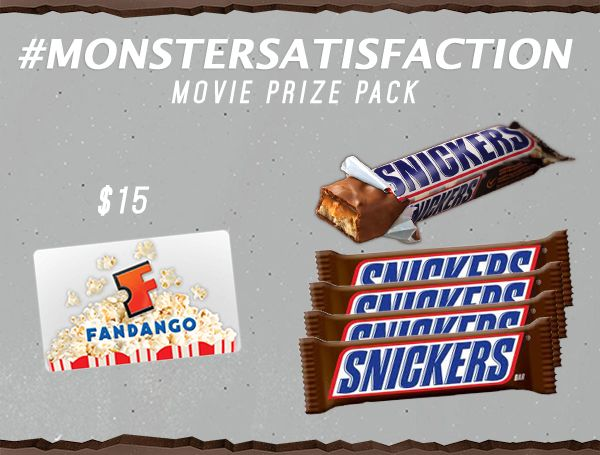 Snickers giveaways pack