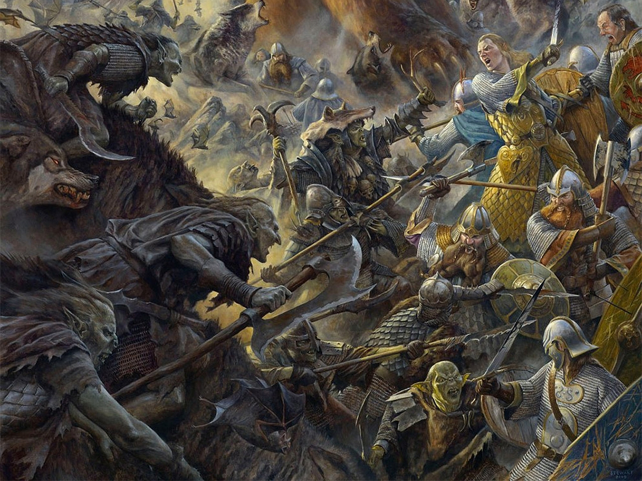 Third Hobbit Movie Now Titled - The Battle of the Five ...