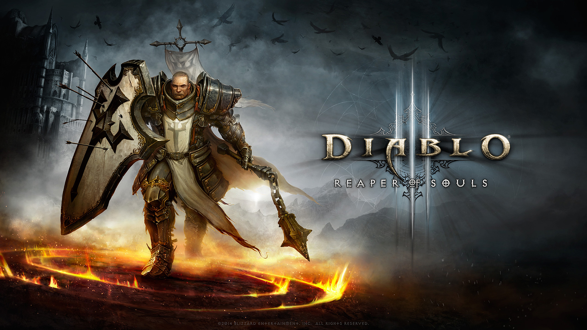 Diablo 3 – Crusader Wallpaper
