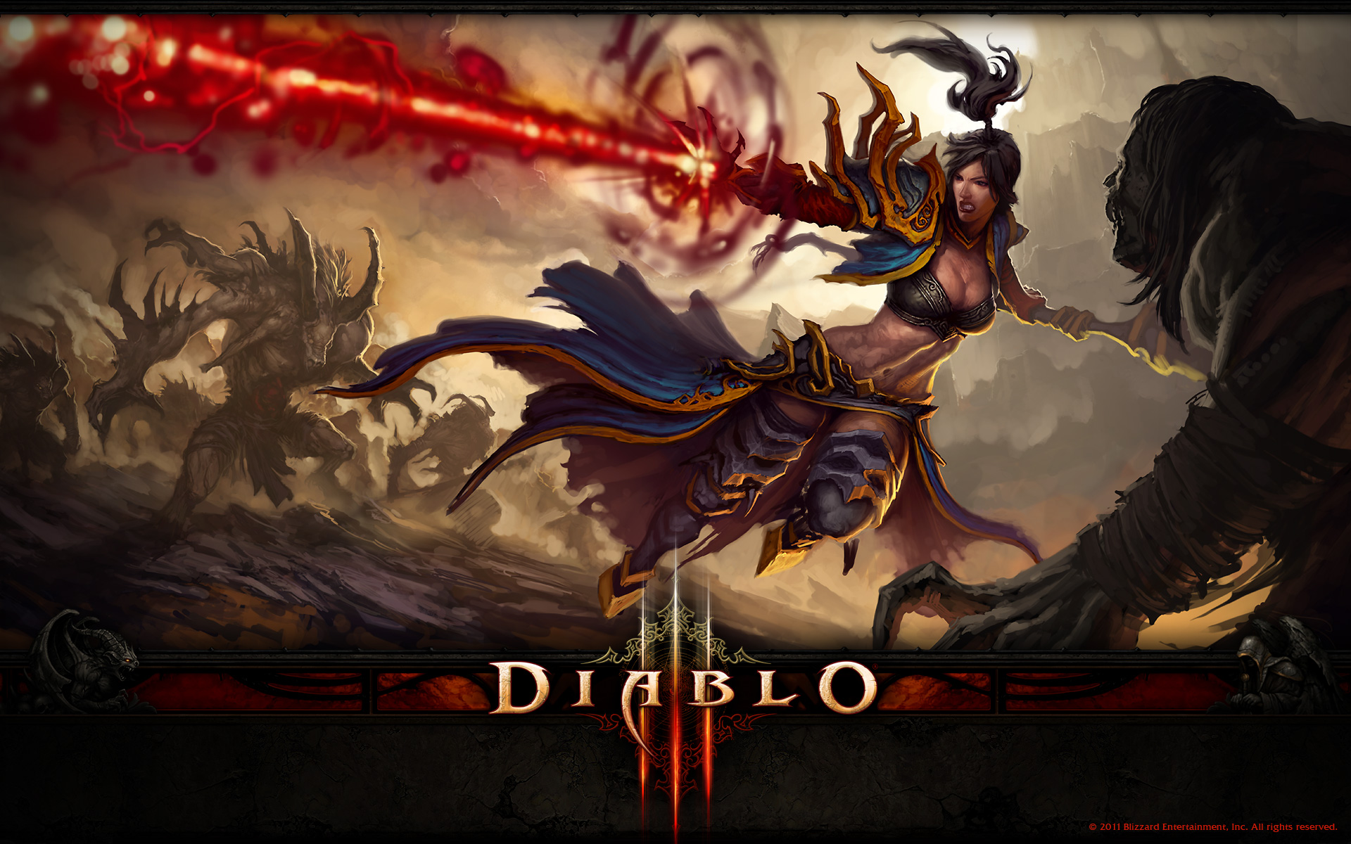 Diablo 3 Wallpaper – Wizard
