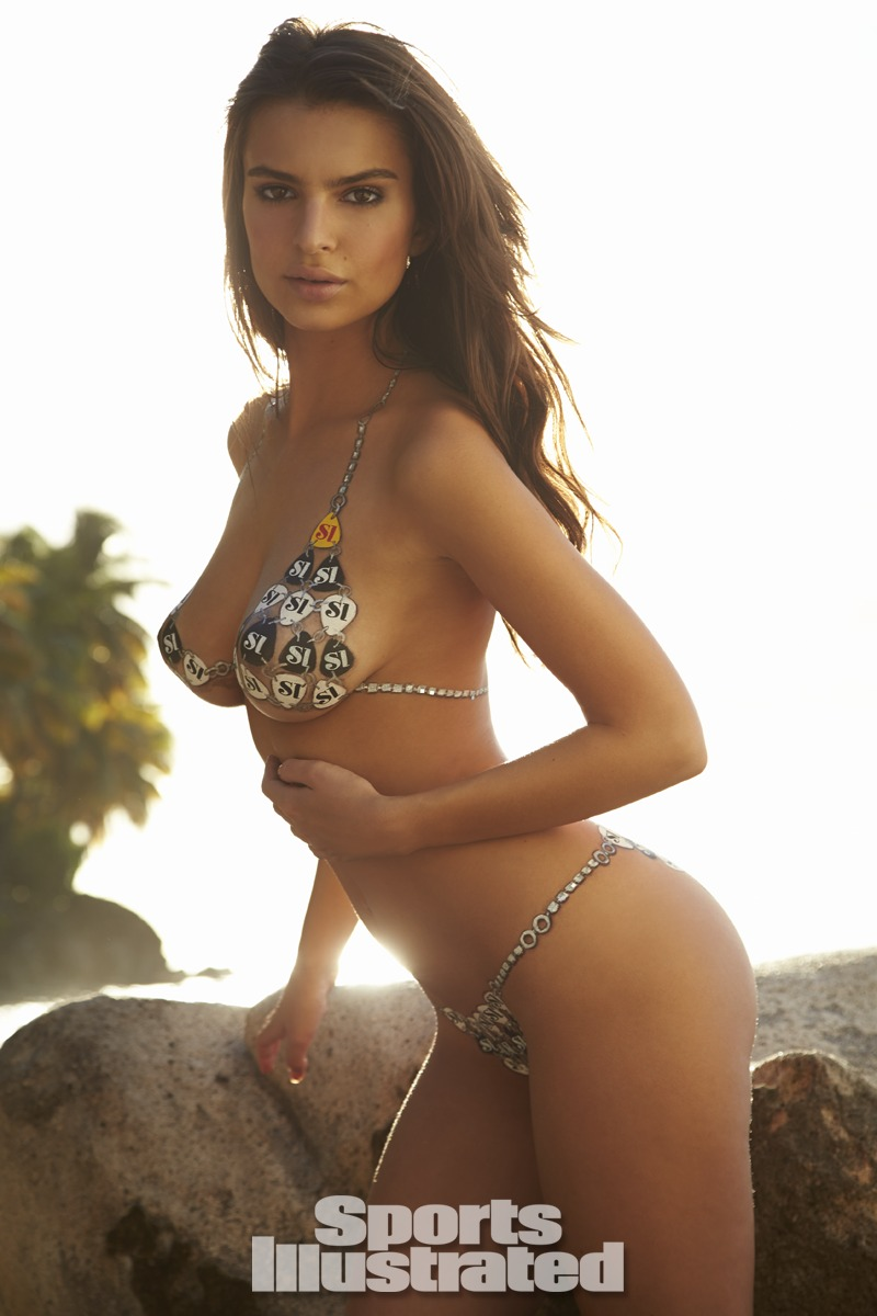 Emily Ratajkowski Body Paint Swimsuit Gallery