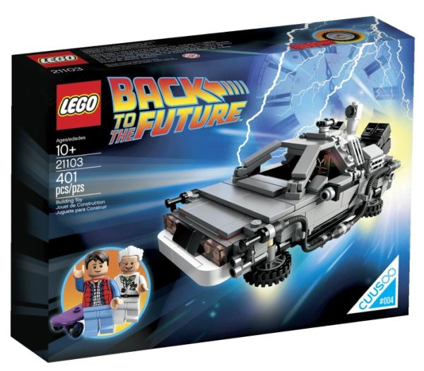 The 'Back to the Future' LEGO DeLorean is the Perfect Time Machine