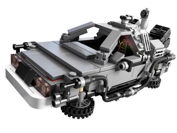 'Back to the Future' LEGO DeLorean pictures courtesy of lego.com