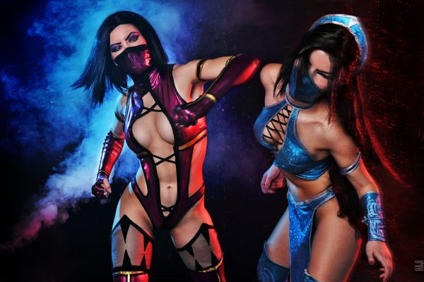 Amazing Mortal Kombat Cosplay by Evgeniya and AsherWarr
