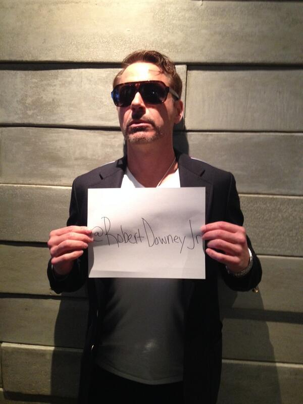 Robert Downey Jr. Joins Twitter and Attracts 1.18 million Followers in 4 Days