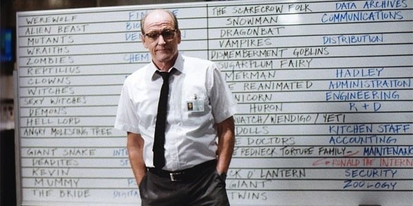 All The Cabin In The Woods White Board References Broken Down