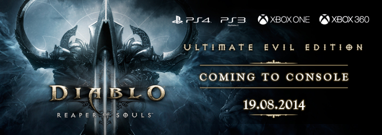 Diablo 3 RoS Console