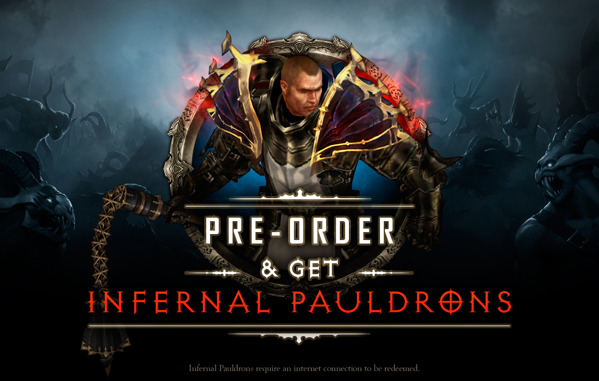 Pre order Diablo 3