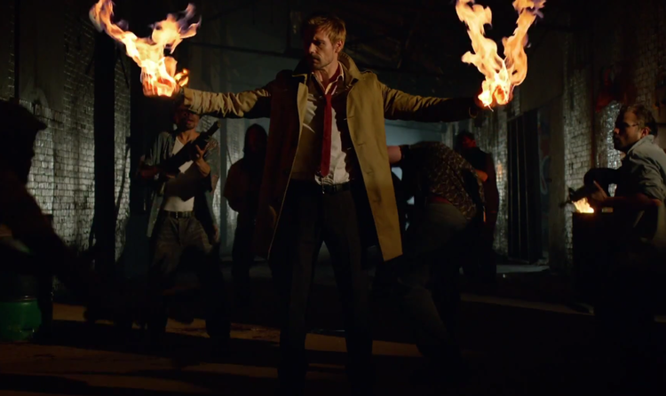 Great First Trailer for Constantine Released
