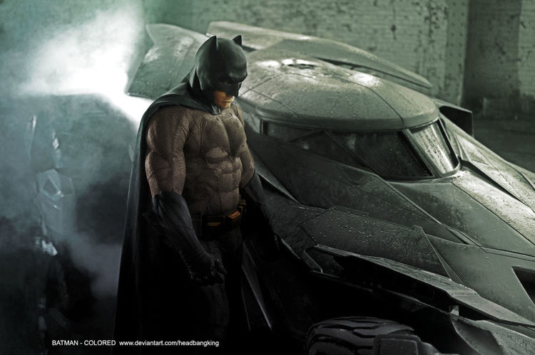 More Batman vs Superman Batsuit Images by Jim Lee and Frank Miller