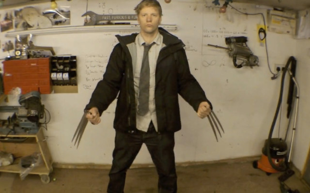 Geek Builds Fully Functioning Homemade Wolverine Claws