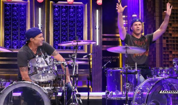 Video: The Will Ferrell and RHCP's Chad Smith Drum-Off We All Wanted!
