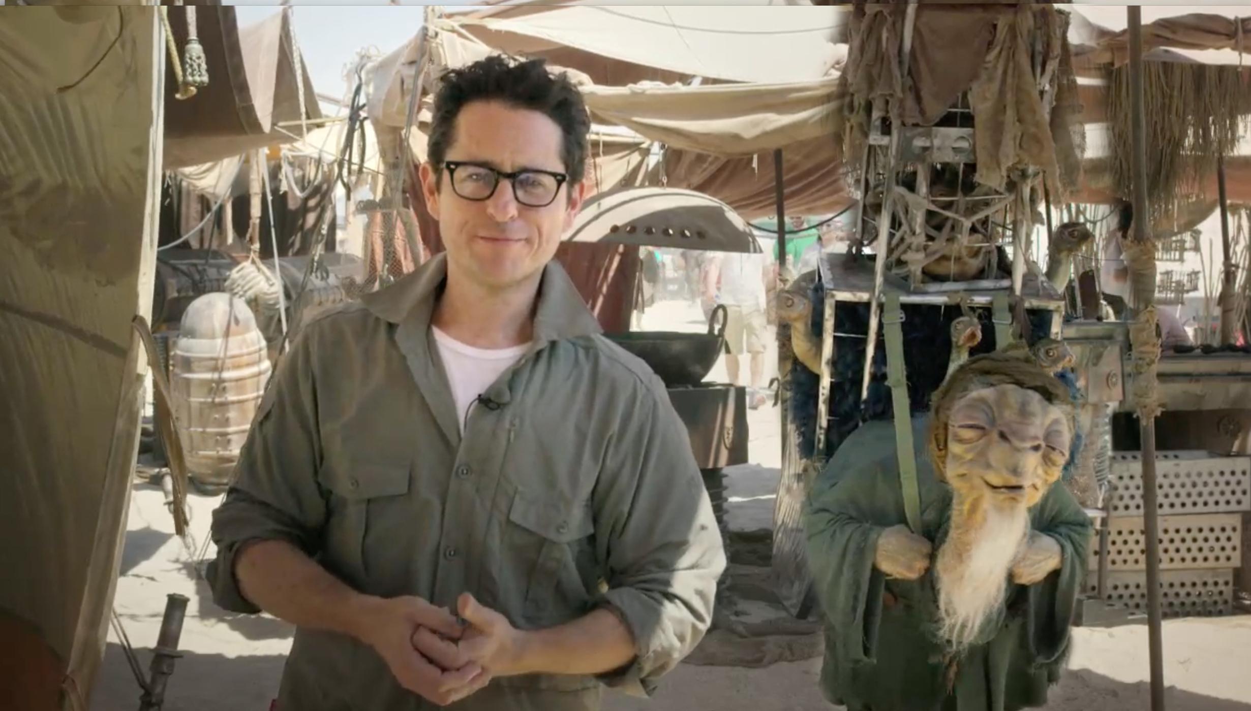 J.J. Abrams Releases First Star Wars Episode 7 Set Video