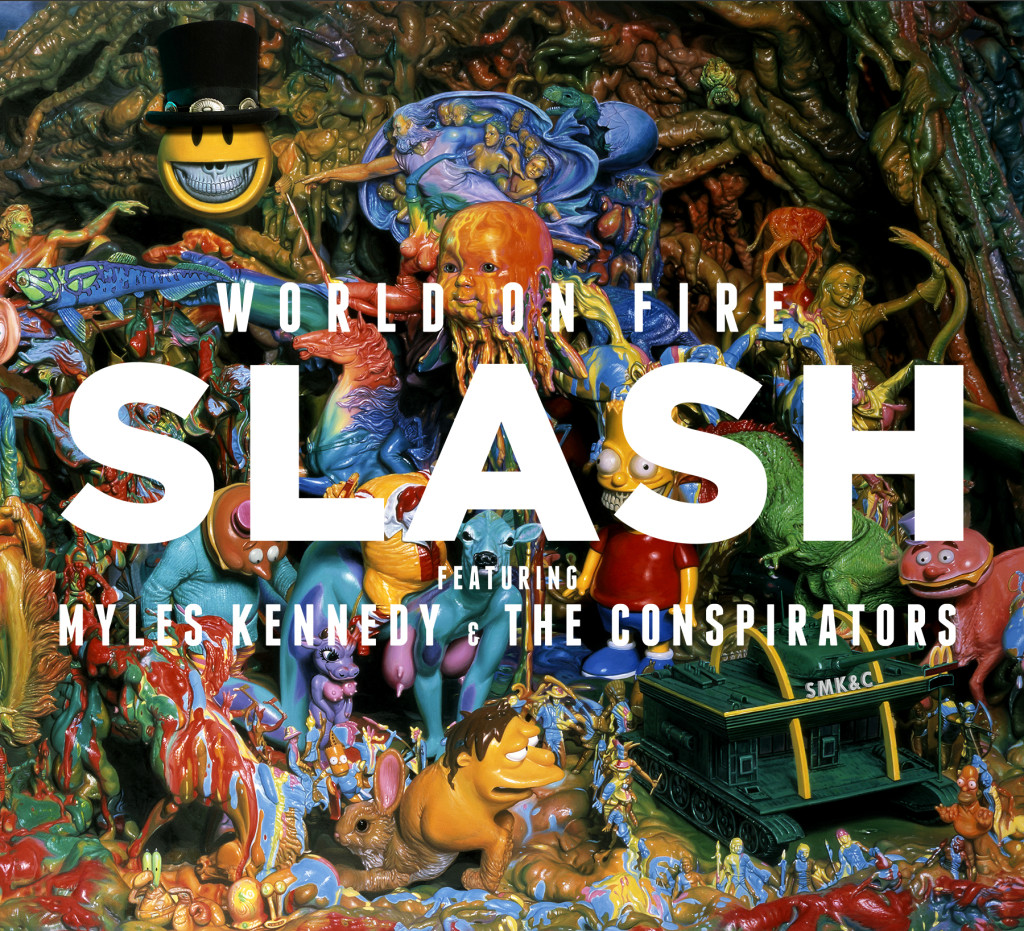 Slash Releases Video for World on Fire