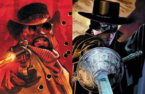Quentin Tarantino Is Bringing a Django/Zorro Crossover Comic to DC