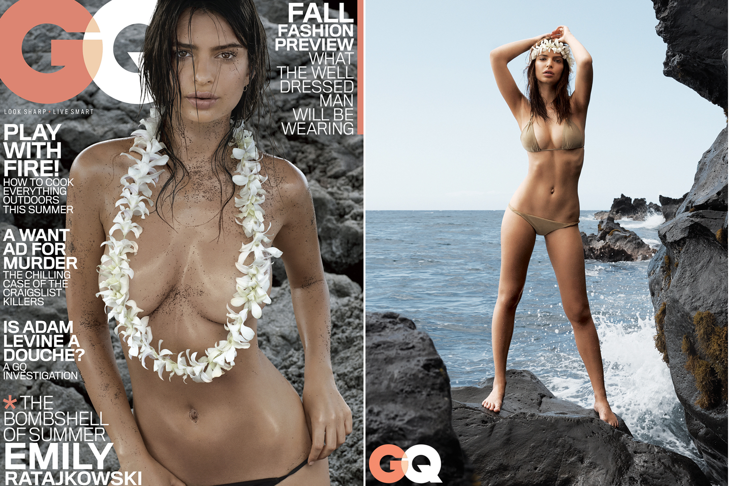 Quite emily ratajkowski naked for the