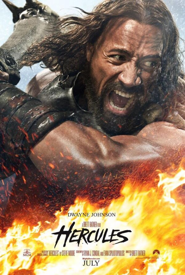 "Two Additional Trailers Released for 'Hercules' Starring Dwayne ""The Rock"" Johnson"