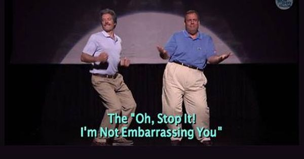Happy Father's Day with Jimmy Fallon and Gov. Chris Christie's Evolution of Dad Dancing