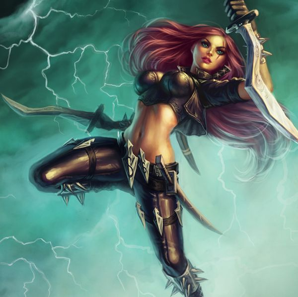 Katarina from 'League of Legends'