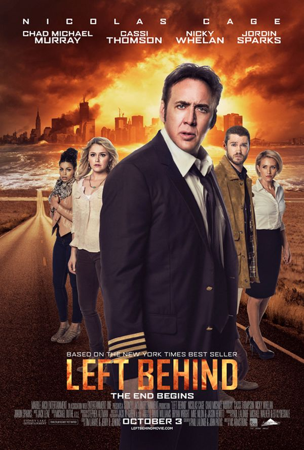 Nicolas Cage is Back in Rapture Movie 'Left Behind' First Trailer