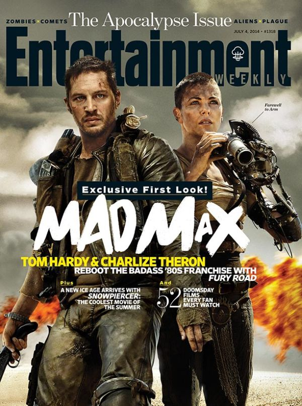 First Pictures Unveiled for Charlize Theron and Nicholas Hoult in 'Mad Max: Fury Road'