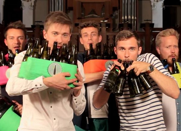 The Bottle Boys Play Michael Jackson's 'Billie Jean' on Beer Bottles
