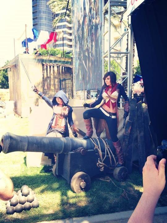 Jessica Nigri SDCC 2014  Assassins Creed