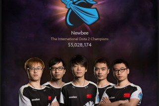 Newbee Wins DOTA 2 2014 International Championship