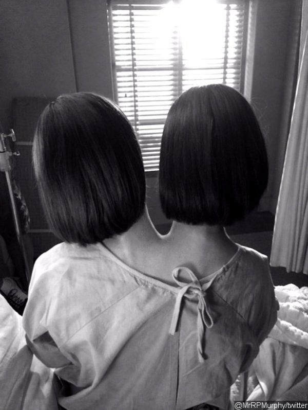 Ryan Murphy Shares Picture of Conjoined Twins in 'American Horror Story: Freak Show'