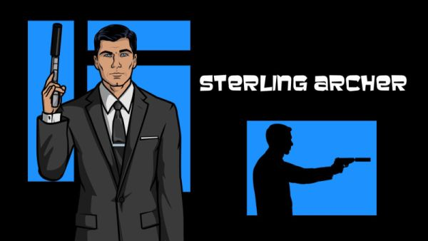 "Sterling Archer - Codename: Duchess. ""World's Most Dangerous Spy""!"