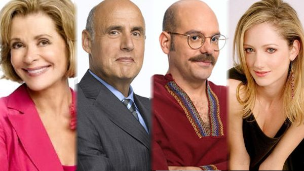 Jessica Walter, Jeffrey Tambor, David Cross, and Judy Greer