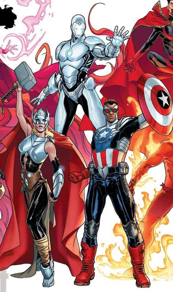 Marvel's New 'Avengers NOW!' Include Black Captain America, Female Thor and Superior Iron Man