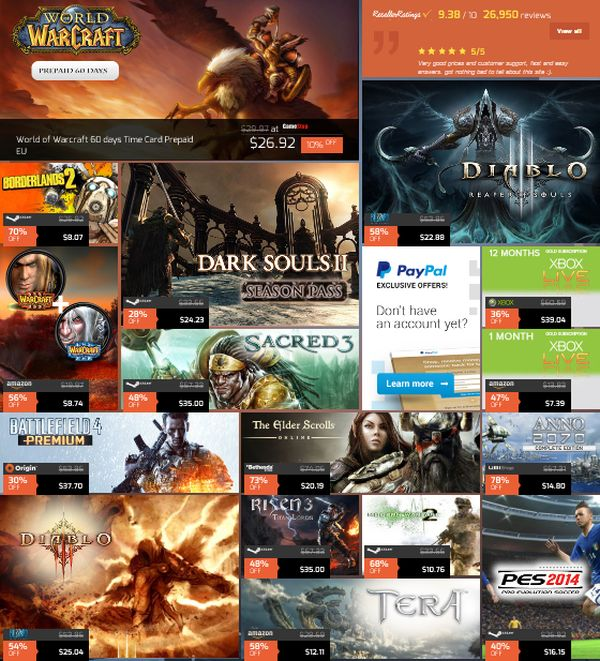 G2A Weekly Gaming Sale – Up to 70% Off!