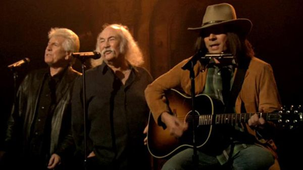 Jimmy Fallon's 'Neil Young' Feat. Crosby, Stills and Nash Cover Iggy Azalea's 'Fancy'