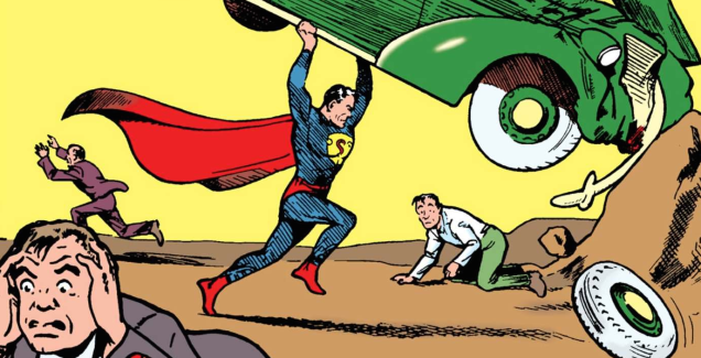 Action Comics #1 Sells For $3.2 Million