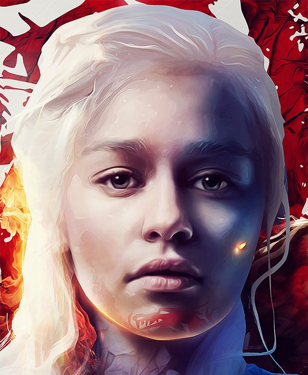 'Game of Thrones' Illustrations By Adam Spizak