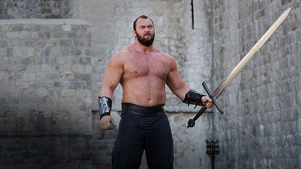The Mountain from 'Game Of Thrones'