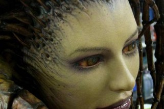 This Life-Size StarCraft Sarah Kerrigan Sculpture Will Blow Your Mind