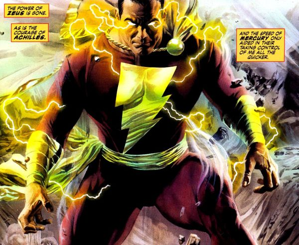 """The Rock Says His """"Character from DC Comics. It's the Story of Shazam"""""""