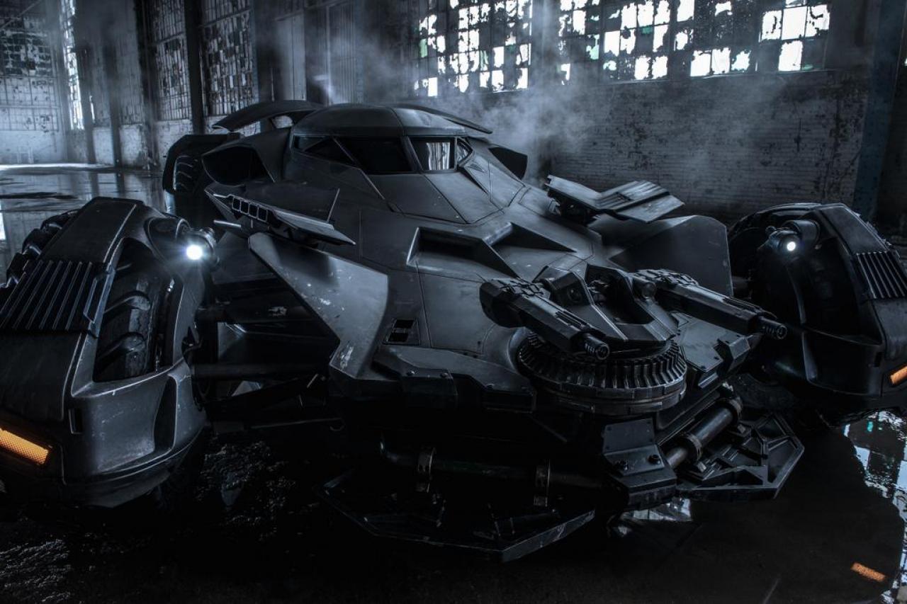 New Batman v Superman Official Batmobile Still