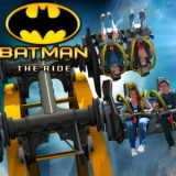 The 4D 'Batman: The Ride' Roller Coaster is Terrifyingly Awesome