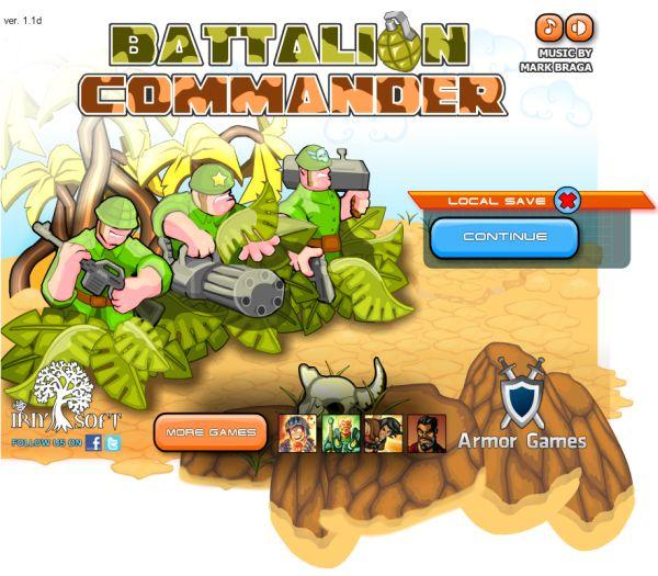 Free Online Game: Battalion Commander