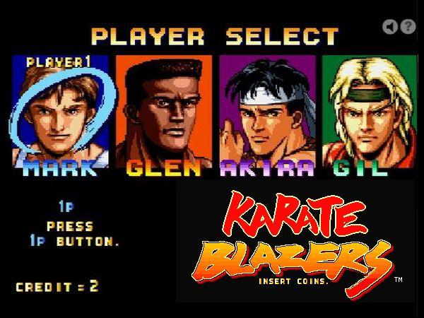 Free Online Game: Karate Blazer