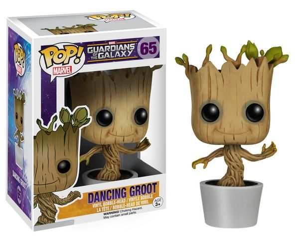 Dancing Groot Has His Very Own Licensed 'Guardians Of The Galaxy' Toy