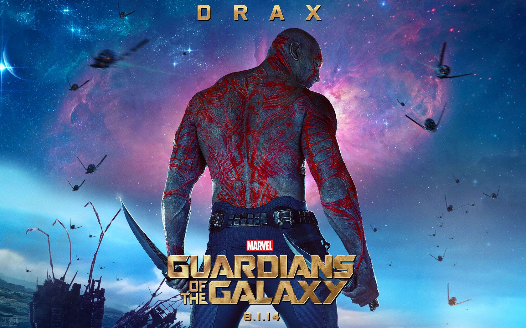 Drax the Destroyer to Have 'Significant' Role in 'Avengers 3'