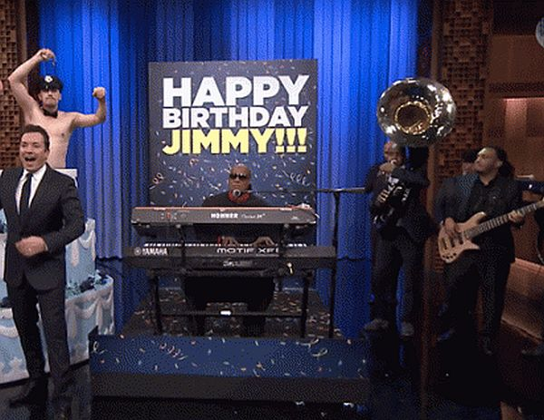 Check out Jimmy Fallon's 40th Birthday Surprise on 'The Tonight Show'